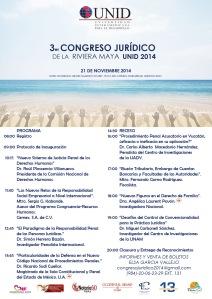3-¦ Congreso Juridico de la Riviera Maya UNI D 2014